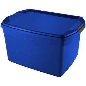 Caixa Organizadora Plástico Azul 68 Flex Sanremo
