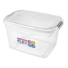 Caixa Organizadora Plástico Flex 29L Incolor Sanremo