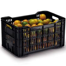 Caixa Organizadora Plástico Preta 45L Arthi