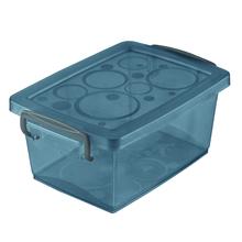 Caixa Organizadora Plástico Preto 18,6x41,2x29,5cm 15L Ordene