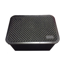Caixa Organizadora Plástico Preto 19x28x39cm Nitronplast