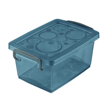Caixa Organizadora Plástico Preto 6x12,8x9cm 0,4L Ordene