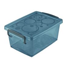 Caixa Organizadora Plástico Preto 9x19,7x11,8cm 1,5L Ordene