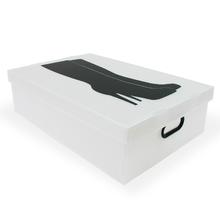 Caixa Organizadora Plástico Translucida com Alça 12X30X45cm Woman Boxgraphia