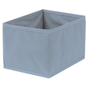 Caixa Organizadora Tecido Azul sem Alça 13x20x38cm Spaceo