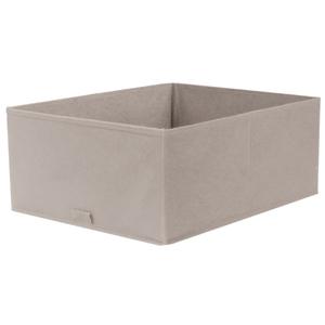 Caixa Organizadora Tecido Cinza sem Alça 18x35x44cm Spaceo