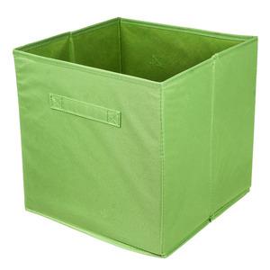 Caixa Organizadora Tecido Verde  31x31x31 cm Tecido Importado