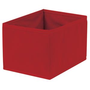 Caixa Organizadora Tecido Vermelha sem Alça 13x15x20cm Spaceo