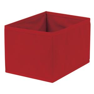 Caixa Organizadora Tecido Vermelha sem Alça 18x26x44cm Spaceo