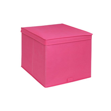 Caixa Organizadora TNT Rosa 32,5x54,5x43,5cm Spaceo