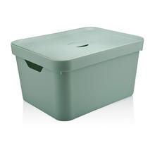 Caixa Organizadora Verde 24,5x46x36 em Plástico