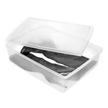 Caixa para Bota Transparente 49,2x36,4x12,8cm Ordene