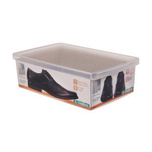 Caixa para Sapato Transparente G 35,5x23,5x11cm Ordene