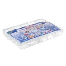 Caixa Organizadora Plástico 3,88L Incolor com Tampa 4,90x33x24cm Organizadores São Bernardo