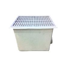 Caixa Sifonada com Grelha Fibra de Vidro 20X40cm