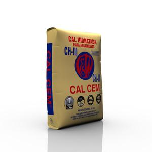Cal Hidratada CHIII para Argamassas 20Kg Cal Cem