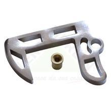 Calço para Porta Zamac Cromado - Ferragens Pagé