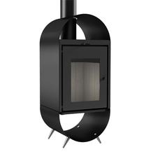 Calefator de Dupla Combustão Preto 960 GF Metávila