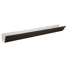 Calha Alumínio Marrom Comprimento 2 m