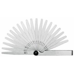 Cálibre de folda 0,05 a 1 mm
