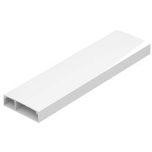 Canaleta 53X15 2M com Tampa Alumínio Branco Dutotec X Dutotec