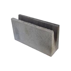 Canaleta de Concreto Estrutural 3,0 Mpa - 11,5x19x39cm - Classe C - JCRB Blocos
