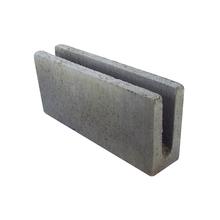 Canaleta de Concreto Estrutural 3,0 Mpa - 9x19x39cm - Classe C - JCRB Blocos