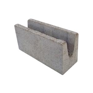 Canaleta de Concreto Estrutural 4,5 Mpa - 14x19x39cm - Classe B - JCRB Blocos