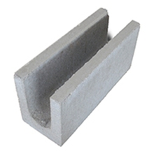 Canaleta de Concreto Vedação 9x19x39cm Blocos Cabral