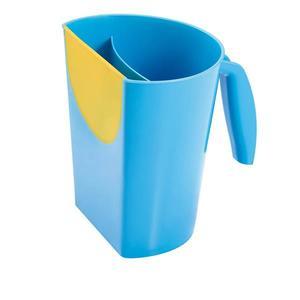 Caneca de Banho Infantil Plástico Azul MultiKids Baby