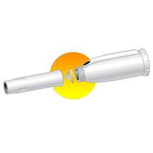 Cano para Chuveiro Termoplastico 30cm Branco Corona
