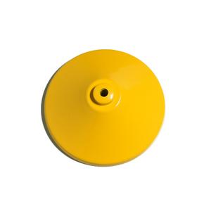 Canopla para Pendente Cônica 1 Lâmpada Metal Amarelo