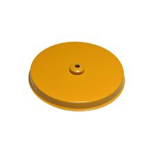 Canopla para Pendente Redonda 1 Lâmpada Metal Amarelo