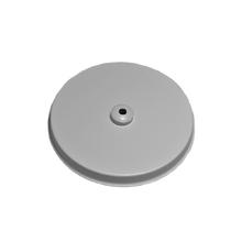 Canopla para Pendente Redonda 1 Lâmpada Metal Cinza