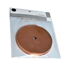 Canopla para Pendente Redonda 1 Lâmpada Metal Cobre