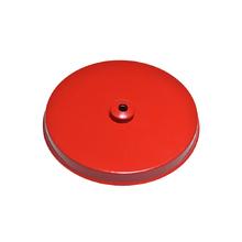 Canopla para Pendente Redonda 1 Lâmpada Metal Vermelho