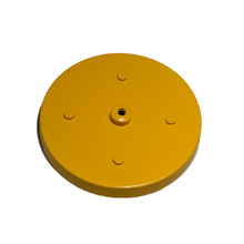 Canopla para Pendente Redonda 5 Lâmpadas Metal Amarelo