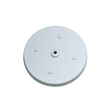 Canopla para Pendente Redonda 5 Lâmpadas Metal Branco