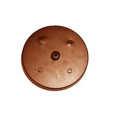 Canopla para Pendente Redonda 5 Lâmpadas Metal Cobre