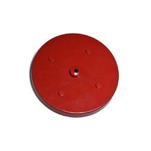 Canopla para Pendente Redonda 5 Lâmpadas Metal Vermelho