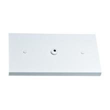 Canopla para Pendente Retangular 3 Lâmpadas Metal Branco