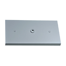 Canopla para Pendente Retangular 3 Lâmpadas Metal Cinza