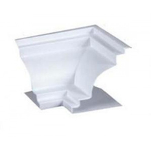 Canto Colonial Rígido de PVC 5x5cm Real PVC