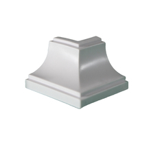 Canto Sobrepor Rígido de PVC 5x5cm Real PVC