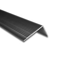 Cantoneira para degrau de escada de Sobrepor Frisada 3M Natural 3,5X2cm Alumínio