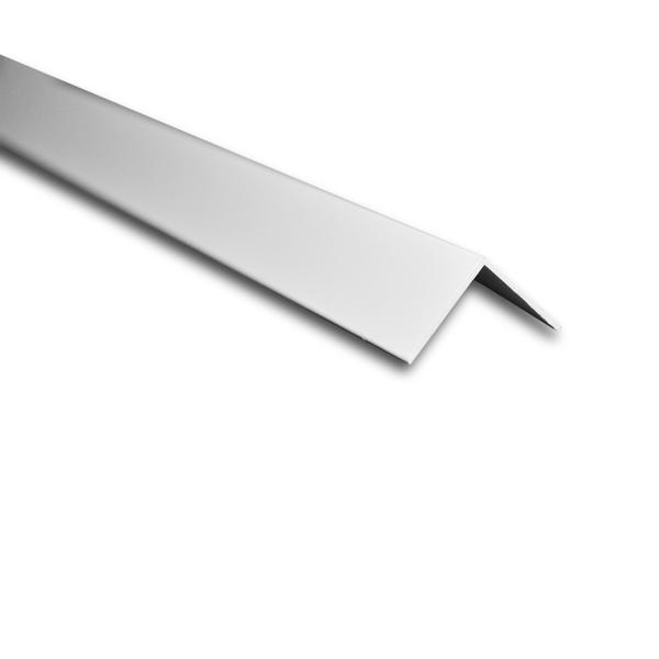Cantoneira para parede de sobrepor 3m branco 1 58cm for Perfil u aluminio leroy merlin