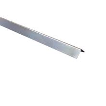 Cantoneira para Parede de Sobrepor 3M Brilhante 1,27cm Alumínio