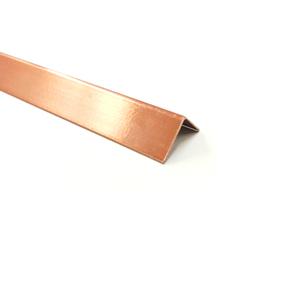 Cantoneira para Parede de Sobrepor 3M Cobre 2,54cm Alumínio