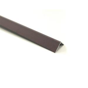 Cantoneira para Parede de Sobrepor 3M Corten 1,27cm Alumínio