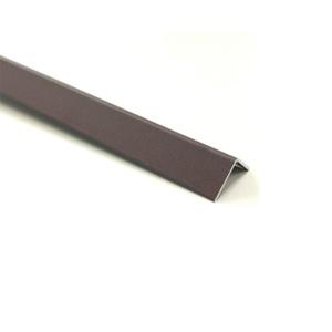 Cantoneira para Parede de Sobrepor 3M Corten 2,54cm Alumínio